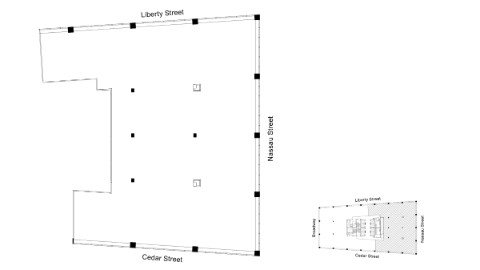 Graphic: Floor plan of 50th floor